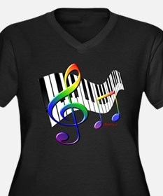 Keyboard Plus Size T-Shirt