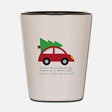 Christmas Car Shot Glass