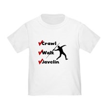 Crawl Walk Javelin T-Shirt
