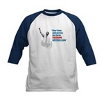 Freedumb Bush Kids Baseball Jersey