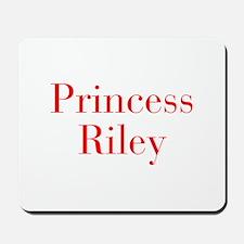 Princess Riley-bod red Mousepad
