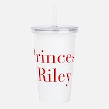 Princess Riley-bod red Acrylic Double-wall Tumbler