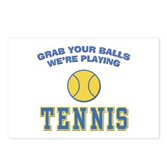 Grab Your Balls Tennis Postcards (Package of 8)