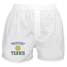Grab Your Balls Tennis Boxer Shorts