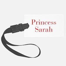 Princess Sarah-bod red Luggage Tag