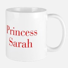 Princess Sarah-bod red Mugs