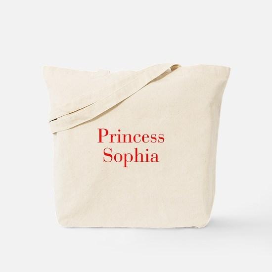 Princess Sophia-bod red Tote Bag