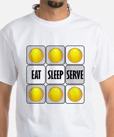 Eat Sleep Serve Tennis Shirt