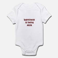 happiness is being Aliza Infant Bodysuit
