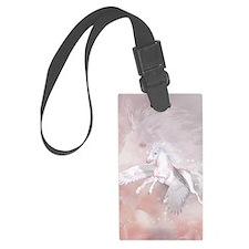 Flying Unicorn Luggage Tag