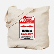 no parking tennis Tote Bag