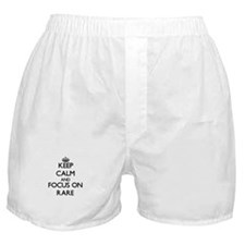 Keep Calm and focus on Rare Boxer Shorts