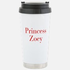 Princess Zoey-bod red Travel Mug