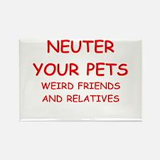 pets Rectangle Magnet