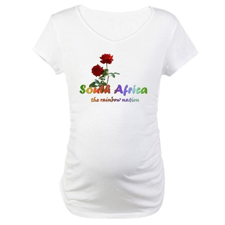 South Africa Goodies Maternity T-Shirt
