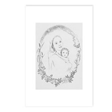 Funny Virgin and child Postcards (Package of 8)