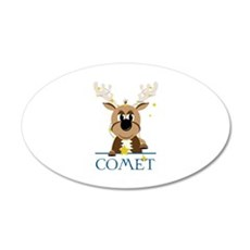 Comet Wall Decal