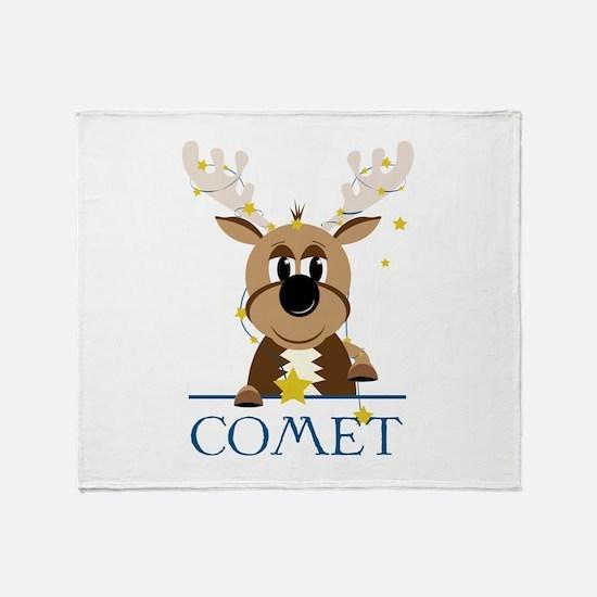 Comet Throw Blanket