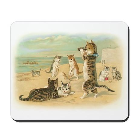 Beach Kittens Mousepad