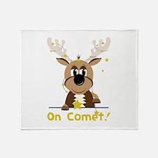 On Comet Throw Blanket