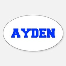 AYDEN-fresh blue Decal