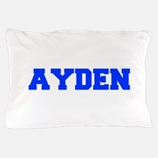 AYDEN-fresh blue Pillow Case
