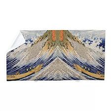 Great Wave by Hokusai Beach Towel