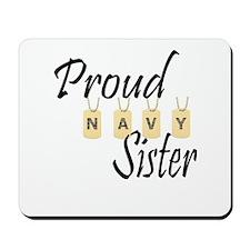 Camo Navy Sister Mousepad