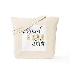 Camo Navy Sister Tote Bag