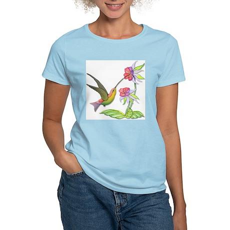 Hummingbird Flight Women's Light T-Shirt