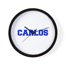 CARLOS-fresh blue Wall Clock