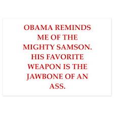 anti obama Invitations