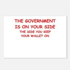 taxes Postcards (Package of 8)