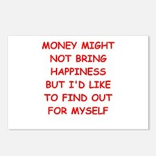 money Postcards (Package of 8)