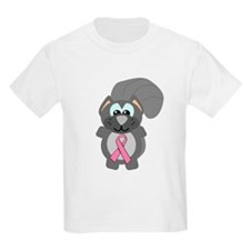 Pink Awareness Ribbon Squirrel T-Shirt