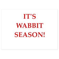 wabbit season Invitations