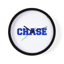 CHASE-fresh blue Wall Clock