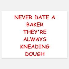 baker 5x7 Flat Cards