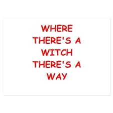 witch Invitations