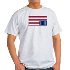 American Flag in Distress T-Shirt