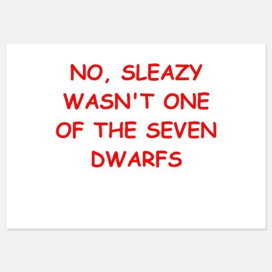 sleazy Invitations