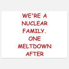 nuclear Invitations