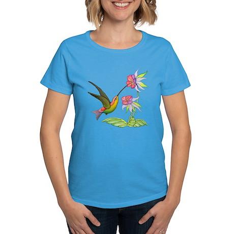 Hummingbird Flight Women's Dark T-Shirt