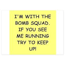 bomb squad Invitations