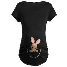 kangaroo pouch Maternity T-Shirt