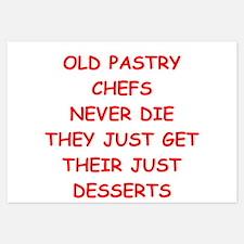 pastry chef Invitations