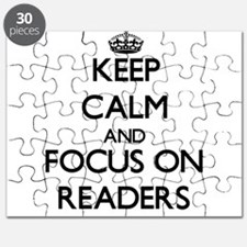 Keep Calm and focus on Readers Puzzle