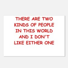 kinds of people Postcards (Package of 8)