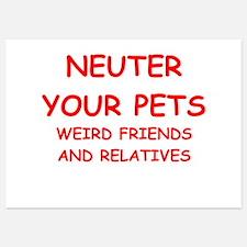 pets 5x7 Flat Cards