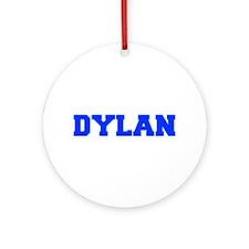DYLAN-fresh blue Ornament (Round)